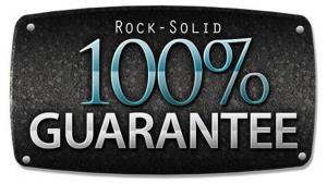 rock solid 100% guarantee