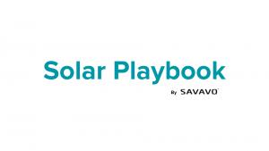 Solar Playbook by Savavo
