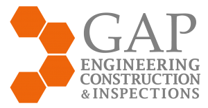 Gap engineering construction and inspections logo