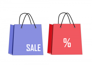 sales and percentages in marketing