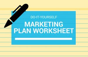 marketing plan component worksheet